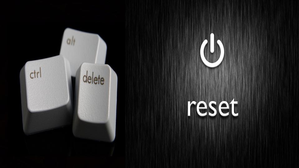 Ctrl-Alt-Delete Reset Part 3